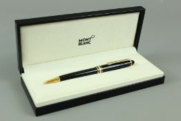 A Mont Blanc Rollerball Pen