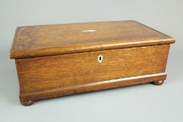 A 19th Century Oak Storage Box