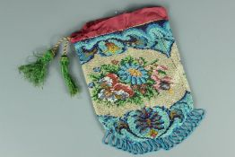Early 19th Century French Beadwork Bag