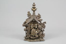 A 19th Century Heraldic Shield Metal Money Box
