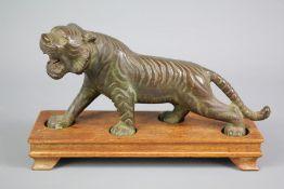 20th Century Bronzed Tiger