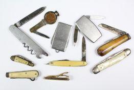 Gentleman's Lot - Pen and Fruit Knives