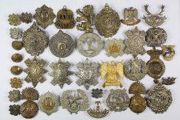 Forty Scottish Military Insignia