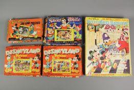 Charming Walt Disney Circa 1940's Jigsaw Puzzles