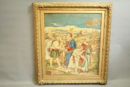 A Large Wool Tapestry