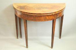 A Demi-Lune Table