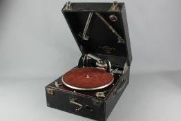 Vintage Columbia Portable Gramophone