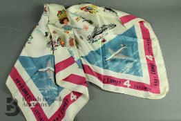 A Silk Commemorative Scarf