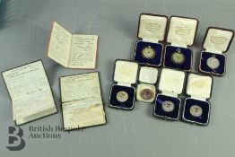 Early Motoring Interest - Quantity of Silver and Other Medallions