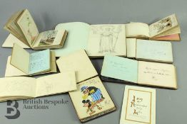 Quantity of Early 20th Century Autograph Books