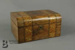 19th century Sewing Box