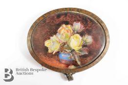 Late 19th Century Oval Miniature