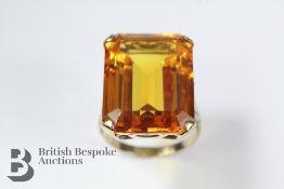 1970's 9ct Yellow Gold Dress Ring