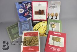 Quantity of Older Auction Catalogues