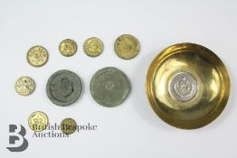 Collection of 18th-19th C Georgian Brass and Copper Alloy Trade and Apothecaries Weights