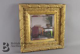 Wood Carved Mirror