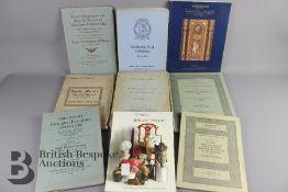 Quantity of Auction Catalogues