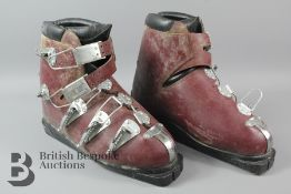 Vintage Humanic Ski Boots