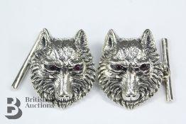 Pair of Silver Cufflinks