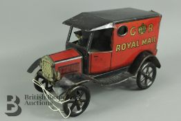 Wells of London Tin Plate Royal Mail Van