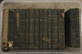 A Collection of Bound Copies of Punch