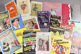 Large Quantity of Early 20th Century Theatre Show Programmes