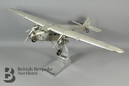 A Ford Trimotor AP452 Model Aircraft by Authentic Models