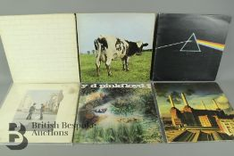 Six Pink Floyd LPs