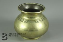An Indian Bronze Lota
