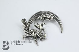 A Silver Brooch