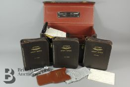 A Vintage Jepco Flight Case Model FC-1 with Contents and Key.