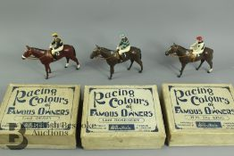 W. Britain Models - Racing Colours of Famous Owners