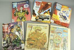 Collection of 2000 AD Judge Dredd Comic Books