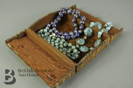 Quantity of Murano and Cloisonne Beads
