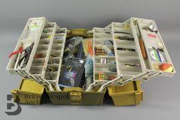 Miscellaneous Fishing Box and Waistcoat