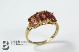 9ct Yellow Gold Topaz Ring