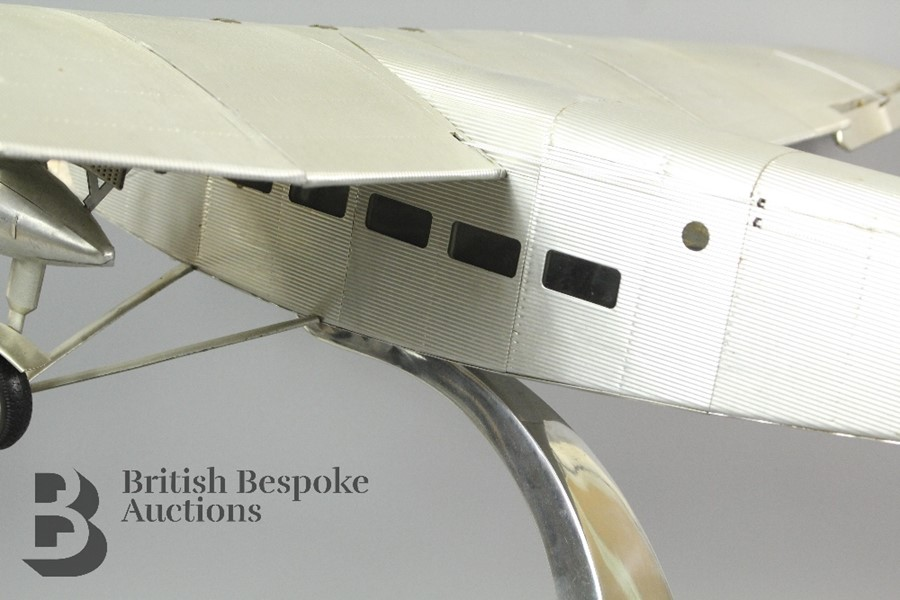 Lot 1 - A Ford Trimotor AP452 Model Aircraft by Authentic Models