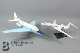 Two Model Aircrafts
