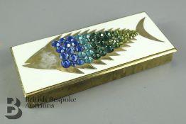 Brass Pen Box