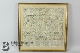 Two Early 19th Century English Samplers