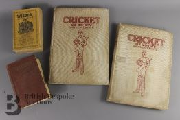 Percy Cross - Cricket of Today and Yesterday