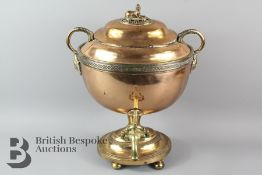 A 19th Century Copper Samovar