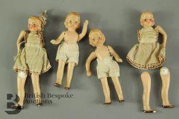 Antique Porcelain German Dolls
