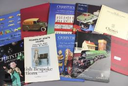 Quantity of Toy and Train Auction Catalogues