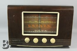 1940s Vintage HMV Radio