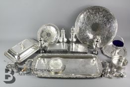 A Quantity of Good Quality Silver Plate