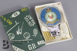 Royal Air Force Fighter No.1 Squadron Car Badge
