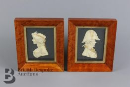 Leslie Ray of London Wax Relief Portraits