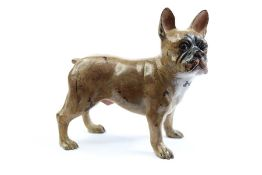 Cold Painted Bronze Bulldog