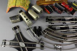 A Clockwork Tin Train Set
